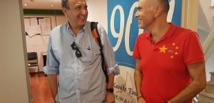 Κανάλι Ένα: Ο Παναγιώτης Φύτρας φιλοξενεί τον συγγραφέα Χρήστο Χωμενίδη