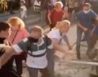 Απίστευτες εικόνες με γονείς να προσπαθούν να σπάσουν κατάληψη σε σχολείο στον Άλιμο (βίντεο)