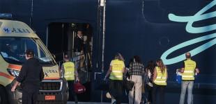 Πειραιάς: Αρνητικό και το τρίτο τεστ στα 12 μέλη πληρώματος του κρουαζιερόπλοιου