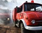 Φωτιά εκδηλώθηκε στο Πέραμα σε δασική έκταση (βίντεο)
