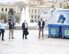 Δήμος Αθηναίων: Εξοπλίζεται με 27 νέα απορριμματοφόρα και 4.000 κάδους ανακύκλωσης