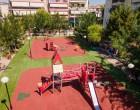Πλήρης ανακατασκευή τεσσάρων Παιδικών Χαρών από τον Δήμο Ιλίου