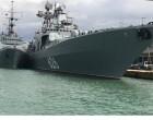 ΡΩΣΙΚΟ «μήνυμα» με πολεμικά πλοία στο λιμάνι του Πειραιά – Τι σηματοδοτεί εντυπωσιακή άφιξη του «Vice Admiral Kulakov»