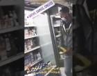 Μετανάστης γλύφει συσκευασία γιαουρτιού και… την ξαναβάζει στο ψυγείο σούπερ μάρκετ (βίντεο)