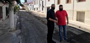 """Αυτοψία Δημάρχου Πειραιά σε έργα ασφαλτοστρώσεων που ολοκληρώνονται στην Β"""" Δημοτική Κοινότητα"""