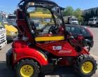 Μια κόκκινη Ferrari στο αμαξοστάσιο του Δήμου Μοσχάτου-Ταύρου