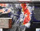 Στο Αιγαίο πλέον το μέτωπο των καταιγίδων που προκάλεσε ισχυρές βροχές και στην Αττική