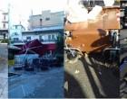 Ζημιές στα Καμίνια από την κακοκαιρία -ΑΠΟΚΛΕΙΣΤΙΚΕΣ ΦΩΤΟ