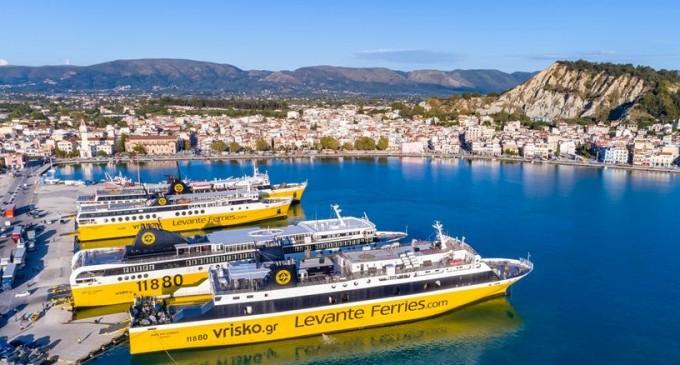 Levante Ferries Group: Tρίτο πλοίο και νέα δρομολόγια!