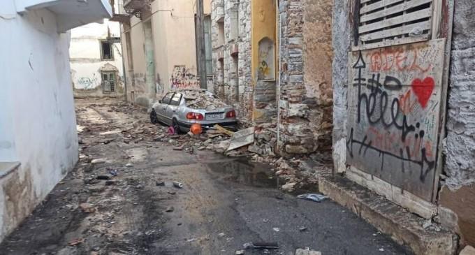 Δήμαρχος Δυτ. Σάμου μετά το σεισμό: Δύσκολες ώρες- Στήνονται σκηνές και θρηνούμε