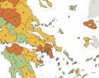 Κρούσματα: Δείτε με ένα «κλικ» τι συμβαίνει ανά περιοχή (χάρτης)