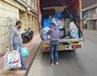 Παράδοση ειδών πρώτης ανάγκης στους πρόσφυγες του ΚΥΤ Σχιστού (ΦΩΤΟ)