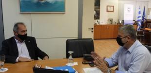 Συνάντηση Γ. Πατούλη – Γ. Ιωακειμίδη