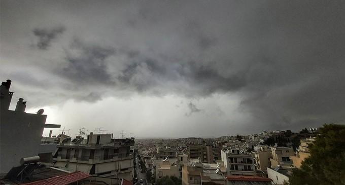 Καιρός – Έκτακτο δελτίο καιρού: Ισχυρές καταιγίδες από τα δυτικά