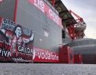 Μαραντόνα: Έγινε γκράφιτι και στο «Γεώργιος Καραϊσκάκης»