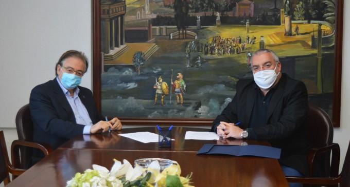 Μνημόνιο Συνεργασίας μεταξύ του Οργανισμού Λιμένος Ελευσίνας (Ο.Λ.Ε.) και του Πανεπιστημίου Δυτικής Αττικής