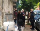 Συνάντηση Δημάρχου Πειραιά με τον Υφυπουργό Περιβάλλοντος Νίκο Ταγαρά για τα επικινδύνως κτήρια της πόλης