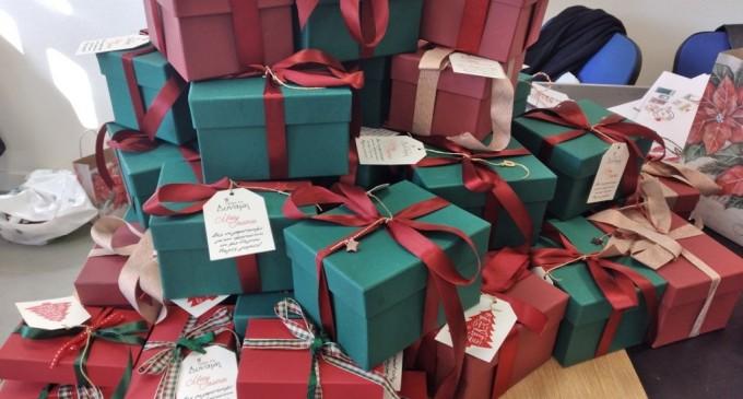 Δώρα και γράμματα του Αγιο-Βασίλη στα παιδιά του «Καλού Ποιμένα»