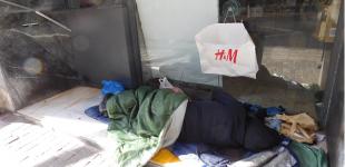 Αύξηση αστέγων στους δρόμους των πόλεων
