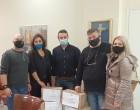 Προσφορά τροφίμων στο «κουτί του φοιτητή» του Δήμου από την Ένωση Τρίτεκνων Σαλαμίνας και συνάντηση με τον Δήμαρχο