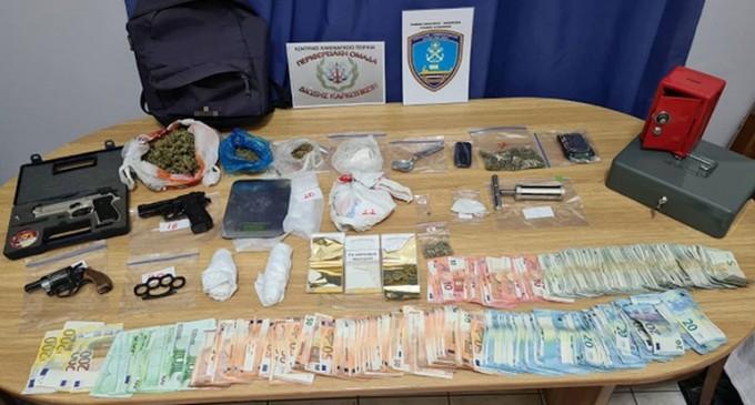 Εντοπισμός κάνναβης και κοκαΐνης σε οικία στο Κερατσίνι