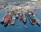 Ναυπηγεία Σύρου: Με δέκα πλοία μπήκε η νέα χρονιά