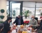 Συνάντηση Δημάρχου Αιγάλεω Γιάννη Γκίκα με τον Αναπληρωτή Υπουργό Εξωτερικών Μιλτιάδη Βαρβιτσιώτη