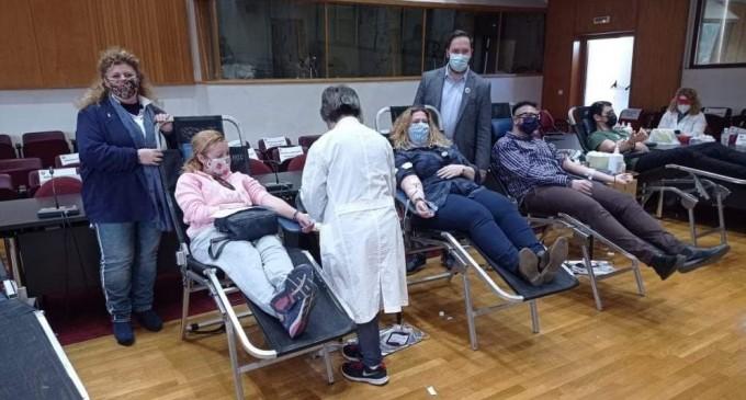 Διήμερο Εθελοντικής Αιμοδοσίας στο δημαρχείο Αιγάλεω