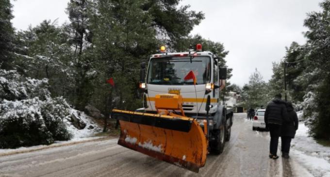 Ποιοι δρόμοι παραμένουν κλειστοί στην Αττική και σε όλη τη χώρα