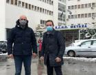 Επίσκεψη Χριστόφορου Μπουτσικάκη στο Αντικαρκινικό Νοσοκομείο Πειραιά «Μεταξά»