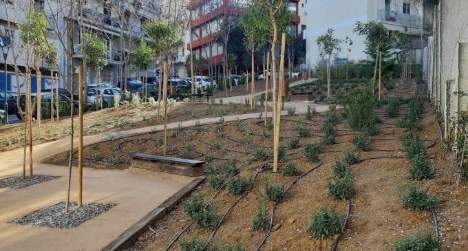 Αθήνα: Eτοιμο ακόμη ένα «Pocket Park» στο Παγκράτι