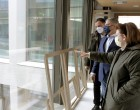 Αυτοψία Λίνας Μενδώνη και Γιώργου Πατούλη στις υπό εξέλιξη εργασίες της Εθνικής Πινακοθήκης