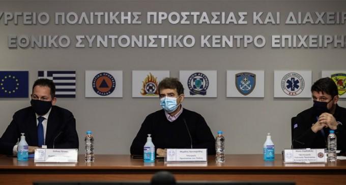 Καιρός – «Μήδεια»: Νέα σύσκεψη στην Πολιτική Προστασία – Στο επίκεντρο η Αττική