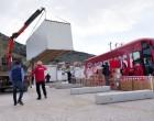 Παράδοση τελευταίων οικίσκων από τον Βαγγέλη Μαρινάκη στους σεισμόπληκτους