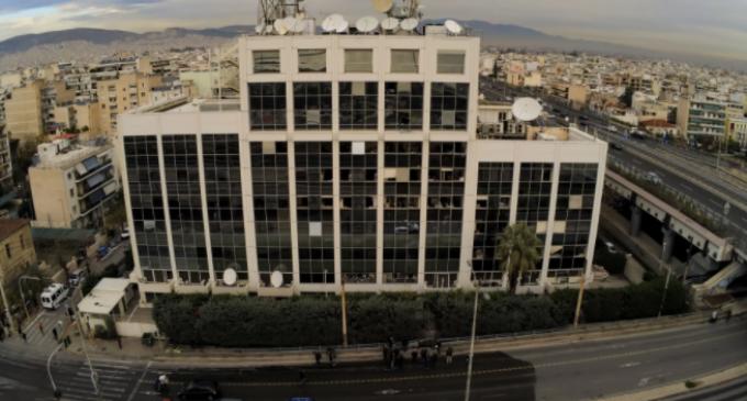 Μολότοφ τα ξημερώματα στο κτίριο του ΣΚΑΪ – Διέφυγαν οι δράστες