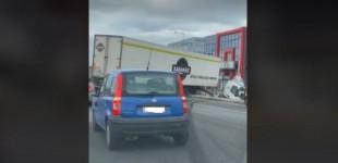 Σοκαριστικό τροχαίο με νταλίκα στη Λεωφόρο Κηφισού – Προβλήματα στην κυκλοφορία
