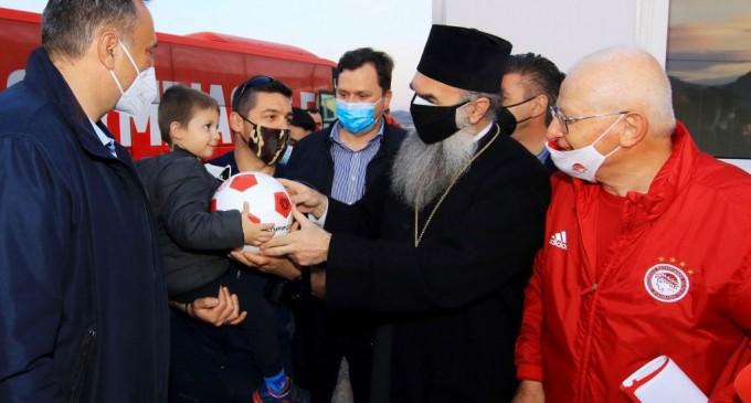 Βοήθεια του Ολυμπιακού στους σεισμόπληκτους