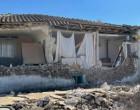 Σεισμός στην Ελασσόνα: Απεγκλωβίστηκε ηλικιωμένος από σπίτι που κατέρρευσε – Πτώση τοίχου σε σχολείο