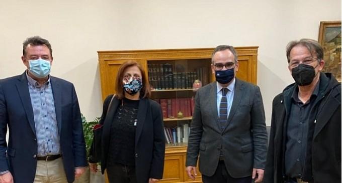 Συνάντηση Βρεττάκου- Κοντοζαμάνη για την άμεση στελέχωση του Κέντρου Υγείας Κερατσινίου-Δραπετσώνας