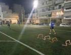 Ανοίγει για ατομική άθληση το γήπεδο ποδοσφαίρου της Αμοργού στα Καμίνια