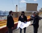 Επίσκεψη σε έργα στο Δήμο Περάματος της Αντιπεριφερειάρχη Πειραιά Σταυρούλας Αντωνάκου