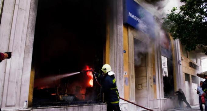 Τραγωδία Marfin: Οι 4 εμπρησμοί την ίδια ημέρα ταυτοποιούν τους δράστες