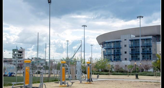 Ο Δήμος Νίκαιας-Αγ. Ι. Ρέντη αυξάνει τα Υπαίθρια Γυμναστήρια