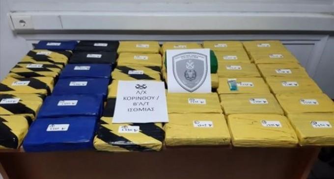 Λιμενικό-βίντεο: Πώς βρήκε 46,7 κιλά κοκαΐνης στα ύφαλα φορτηγού πλοίου στην Κόρινθο