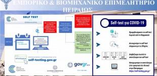 ΕΒΕΠ: Δέκα υποδείξεις σε εργοδότες και εργαζόμενους για τα υποχρεωτικά self test