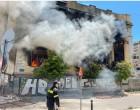 Τι συμβαίνει με το κτίριο των οδών Σκυλίτση & Δεληγιώργη που έπιασε ΞΑΝΑ φωτιά -Τι είχε πει νωρίτερα ο Δήμαρχος Πειραιά Γιάννης Μώραλης για τα επικίνδυνα κτίρια στην πόλη
