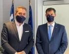 Hellenic Seaplanes: Συνάντηση με τον Υπουργό Τουρισμού Χάρη Θεοχάρη