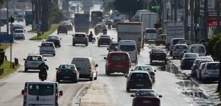 Το 60% πλησίασε σε ορισμένες οδικές αρτηρίες της Αττικής η αύξηση της κυκλοφορίας