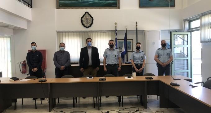 Σύσκεψη στο Δημαρχείο Παλαιού Φαλήρου για την ασφάλεια και την αστυνόμευση