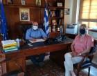 Επίσκεψη της Αντιπεριφερειάρχη Νήσων στα Κύθηρα – υπογραφή σύμβασης για την ωρίμανση των Σφαγείων